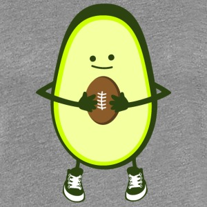 Rugby - Avocado T-shirts - Dame premium T-shirt