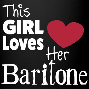 This Girl Loves Her Baritone Tazze & Accessori - Tazza monocolore