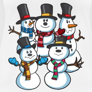 Snowman Scene Christmas - Women's Breathable T-Shirt