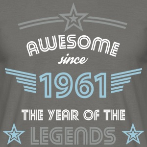 Awesome since 1961 T-Shirts - Männer T-Shirt