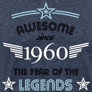 Awesome since 1960 T-Shirts - Männer Premium T-Shirt