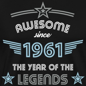 Awesome since 1961 T-Shirts - Männer Premium T-Shirt