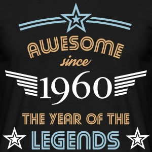 Awesome since 1960 T-Shirts - Männer T-Shirt