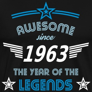 Awesome since 1963 T-Shirts - Männer Premium T-Shirt