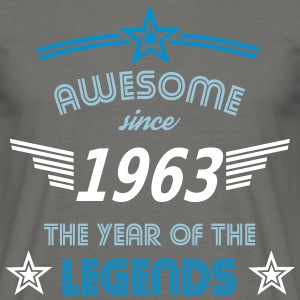 Awesome since 1963 T-Shirts - Männer T-Shirt