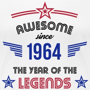 Awesome since 1964 T-Shirts - Frauen Premium T-Shirt