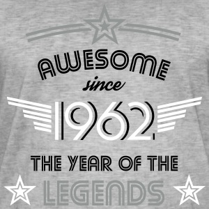 Awesome since 1962 T-Shirts - Männer Vintage T-Shirt