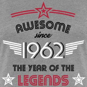 Awesome since 1962 T-Shirts - Frauen Premium T-Shirt