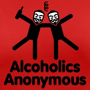 Alcoholics Anonymous 3 Camisetas - Camiseta mujer transpirable