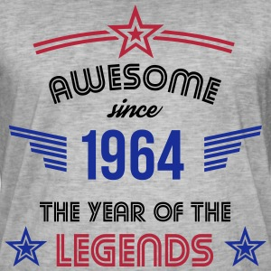 Awesome since 1964 T-Shirts - Männer Vintage T-Shirt