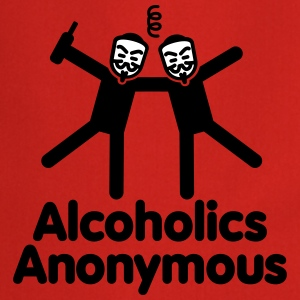 Alcoholics Anonymous 3 Tabliers - Tablier de cuisine