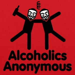 Alcoholics Anonymous 3 Sacs et sacs à dos - Tote Bag