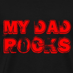 My Dad rocks red T-Shirts - Männer Premium T-Shirt