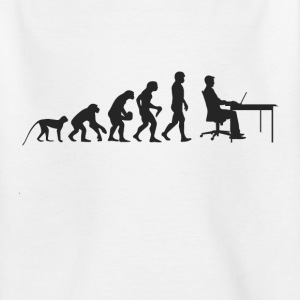 Evolutie werk Shirts - Teenager T-shirt