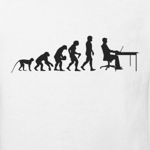 Evolution Arbeit T-Shirts - Kinder Bio-T-Shirt