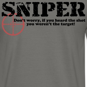 Sniper Hear - Men's T-Shirt