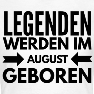 Legenden August T-Shirts - Frauen T-Shirt