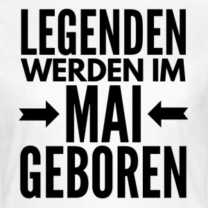 Legenden Mai T-Shirts - Frauen T-Shirt