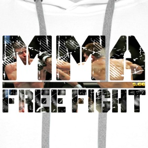 SWEAT-SHIRT MMA FREE FIGHT MIXTE - Sweat-shirt à capuche Premium pour hommes