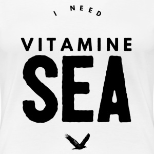 I NEED VITAMINE SEA T-shirts - Premium-T-shirt dam