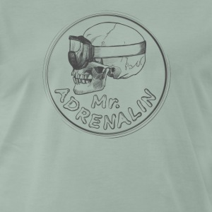 Mr. Adrenalin T-skjorter - Premium T-skjorte for menn