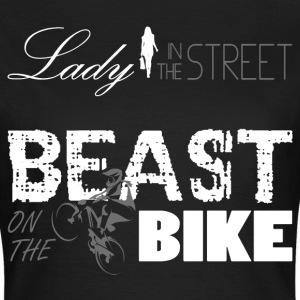 Beast on the Bike - Frauen T-Shirt