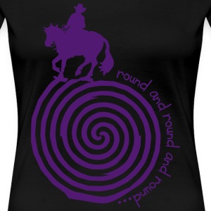 Spin psychedelic T-Shirts - Frauen Premium T-Shirt