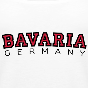 Bavaria Germany (Schwarz/Rot) Bayern Tank Top - Frauen Premium Tank Top