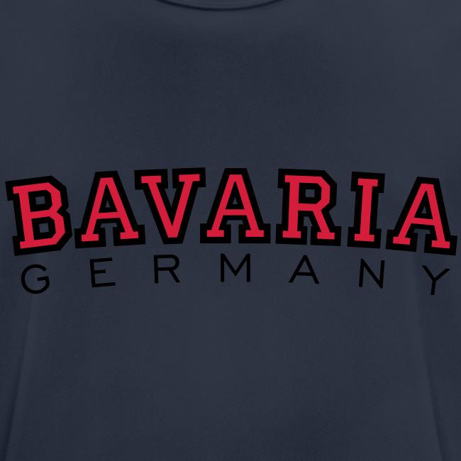 Bavaria Germany (Schwarz/Rot) Bayern Funktionsshirt
