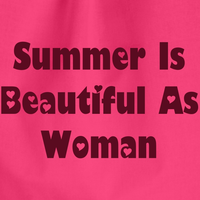 Summer Is Beautiful As Woman- Jumppakassi