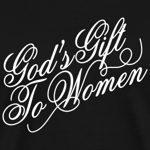 Gods gift to women 2 T-skjorter - Premium T-skjorte for menn