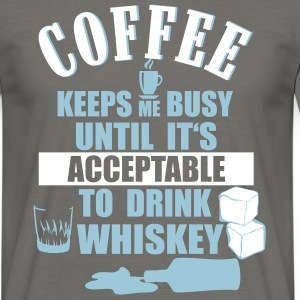 Coffee and whiskey T-Shirts - Men's T-Shirt