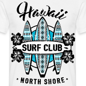 AD Surf Hawaii T-skjorter - T-skjorte for menn