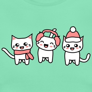 Winter Kittehs T-Shirts - Frauen T-Shirt