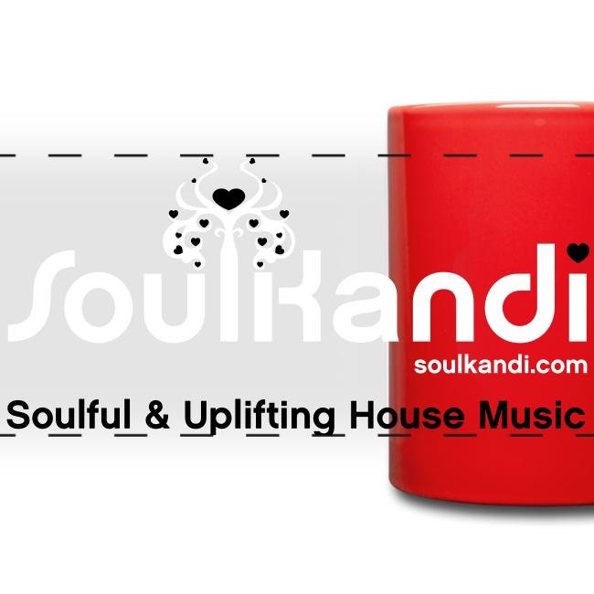 Soul Kandi Panoramic Print Mug White & Black