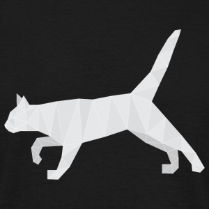 Polygonal Cat T-Shirts - Männer T-Shirt
