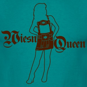 Queen queen queen princess dirndl woman female dre T-Shirts - Men's T-Shirt