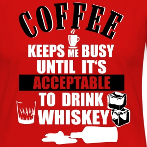 Coffee and whiskey Long Sleeve Shirts - Women's Premium Longsleeve Shirt