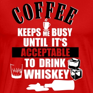 Coffee and whiskey T-Shirts - Men's Premium T-Shirt