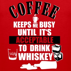 Coffee and whiskey Sports wear - Men's Premium Tank Top