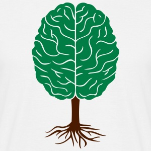 Brain tree T-shirts - Mannen T-shirt