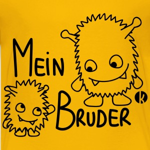 Mein Bruder T-Shirts - Teenager Premium T-Shirt
