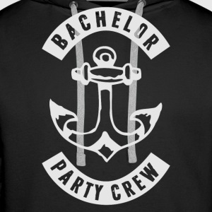 BACHELOR PARTY CREW PATCH Pullover & Hoodies - Männer Premium Hoodie
