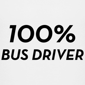 Bus Driver / Busfahrer / Autocar / Autobus / Job Shirts - Teenage Premium T-Shirt