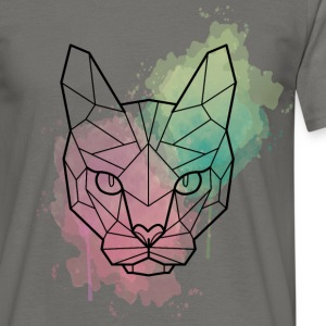 sphynx cat watercolor T-Shirts - Männer T-Shirt