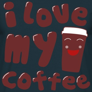 i love my coffee T-Shirts - Männer T-Shirt