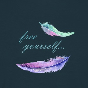 free yourself - Männer T-Shirt
