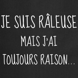 Râleuse - Raleuse - Citation - Humour - Comique Tabliers - Tablier de cuisine