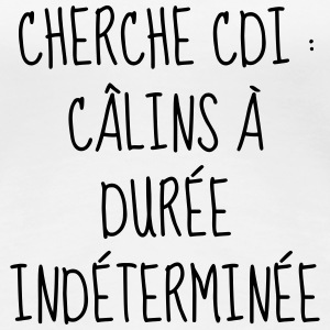 Câlin - Amour - Citation - Humour - Comique - Bébé Tee shirts - T-shirt Premium Femme