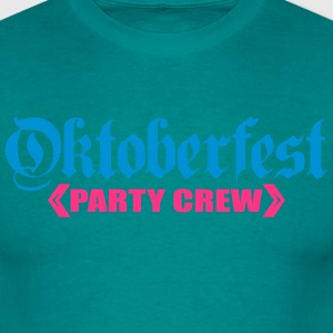 Party, crew, team, celebrate, fun, octoberfest, be T-Shirts - Men's T-Shirt